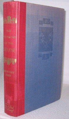 The Testimony Of The Spade by Geoffrey Bibby