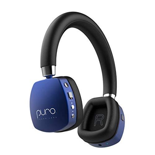 Puro Sound Labs PuroQuiet over het oor ANC hoofdtelefoon voor kinderen/tieners/kinderen draadloze bluetooth-oortelefoon…