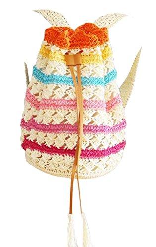 PPL - Bolso mochila  para mujer Marrón 3# 1#