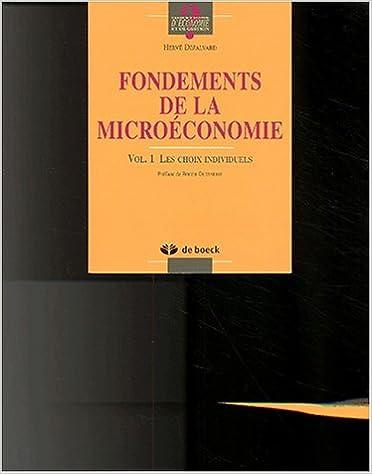 Lire un Fondements de microéconomie epub, pdf