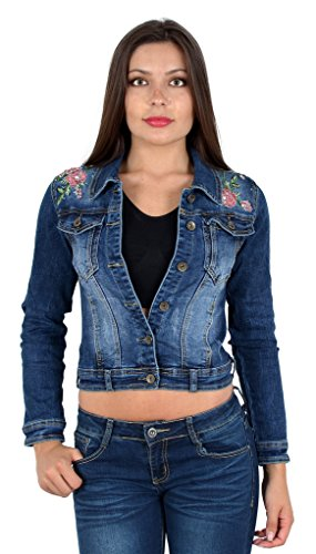M03 M09 longues by manches rex grandes Jeans Femme tailles veste qqBwxHR8