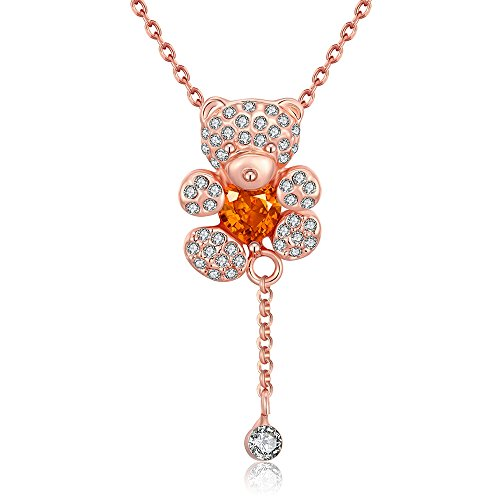 sdlm-lovely-crystal-bear-charm-piece-best-gift-rose-gold-plated-pendant-necklace