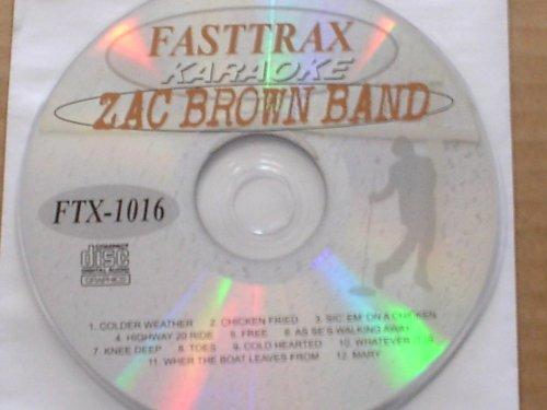 Zac Brown Band Karaoke CD+G Disc FTX 1016