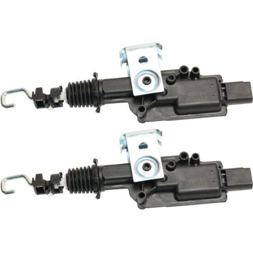 (Door Lock Actuator Set for 2003 Mercury Grand Marquis Front Left and Right Side)