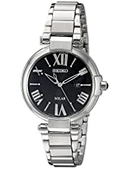 Seiko Women's SUT173 Analog Display Japanese Quartz Silver Watch