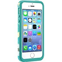 OtterBox SYMMETRY SERIES Case for iPhone 5/5s/SE - Retail Packaging - EDEN TEAL (AQUA TEAL/LIGHT TEAL/EDEN GRAPHIC)