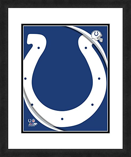 "NFL Indianapolis Colts Logo, Beautifully Framed and Double Matted, 18"" x 22"" Sports (Indianapolis Colts Decor)"