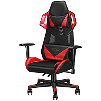 Amazon Com Luxmod Office Gaming Chair High Back Leather