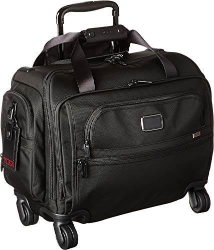 TUMI - Alpha 3 Compact 4 Wheeled Carry-On Duffel Bag - Travel Rolling Luggage for Men and Women - - Compact Tumi