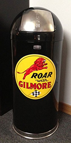 Retro Style Bullet Trash Can- Gilmore