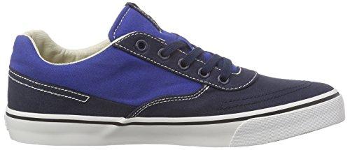 JACK & JONES Jjshark Canvas Low Sneaker - Zapatillas Hombre Azul - azul (Navy Blazer)