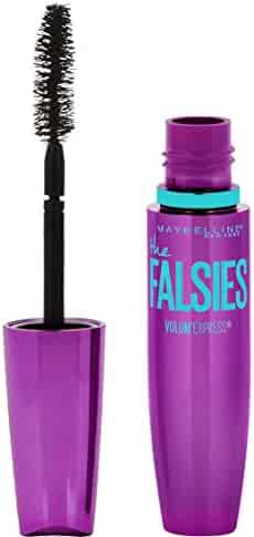 Maybelline Makeup Volum' Express The Falsies Washable Mascara, Blackest Black, 0.25 fl. oz.