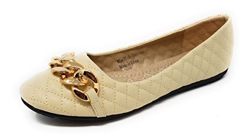 Victoria Loafers Ballerina Toes Ballet Women Flats Front Beige Shoes Buckle Open r7ZHYrwq