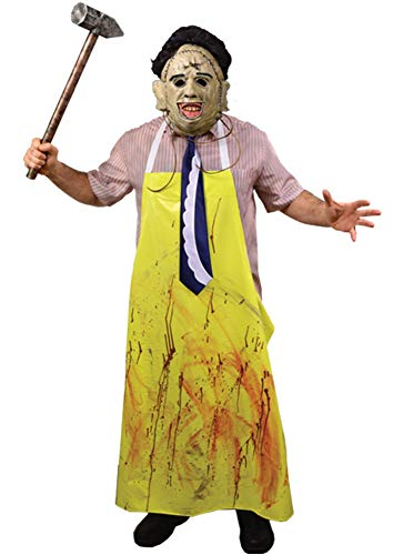 Trick Or Treat Studios The Texas Chainsaw Massacre Leatherface Costume Standard Yellow]()