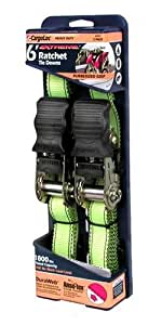CargoLoc 84001 6-Foot Extreme Heavy Duty Ratchet Tie Downs, 2-Pack
