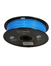 1,75 mm), color azul claro, filamento de impresora 3d PLA   1 kg Carrete (2.2 libras)   Precisión dimensional +   0,03 mm