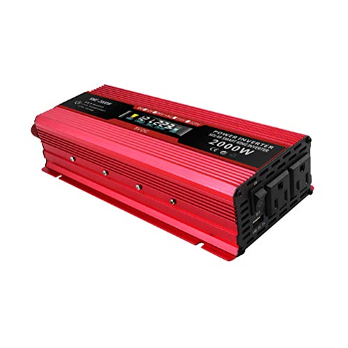 Set 775 Socket Chip (UFFD Power Inverter 2000W DC 12V to 110V AC Car Vehicle with LCD Display and AC US Outlets und USB Ports or Cellphones Laptops Devices Charging)
