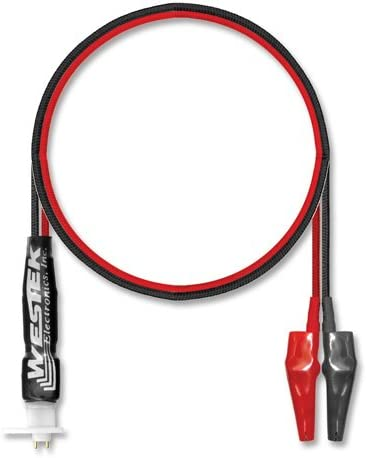 Westek Tc-P2Fm Dual Push Pins To Dual Alligator Patch Cord 16 Inch