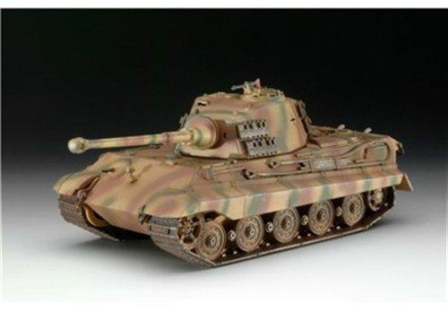 Revell Modellbausatz 03129 - Tiger II Ausf. B im Maßstab 1:72