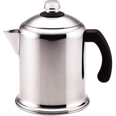 Farberware Percolator Coffee Pot (8 Cup Percolator , Polished stainless steel for beauty and durability. by Farberware)
