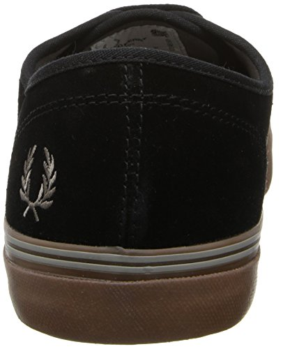 Fred Perry Clarence Suede Black Mens Trainers