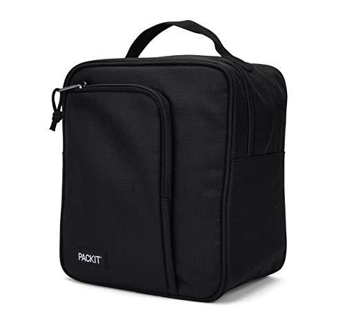 PackIt AMZ-MU-BAK Freezable Commuter Lunch Box, Black