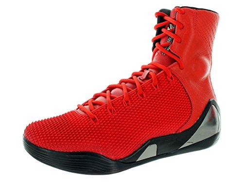 nike KOBE IX ALTO KRM EXT QS uomo scarpe sportive alte 716993 scarpe da tennis Challenge Red, Challenge Red