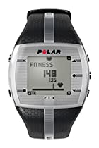 Polar FT7 Men's Heart Rate Monitor (Black / Silver)