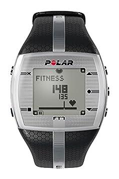 Polar FT7 Mujer - Reloj con pulsómetro e indicador de efecto del entrenamiento para fitness y cross-training (negro/ plata)