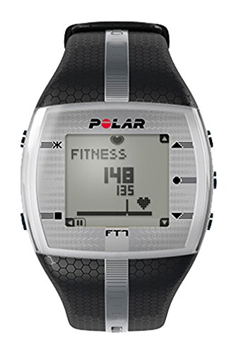 Polar Power Systems FT7 Heart Rate Monitor, Exercise Training Watch, Black/Silver (92018)
