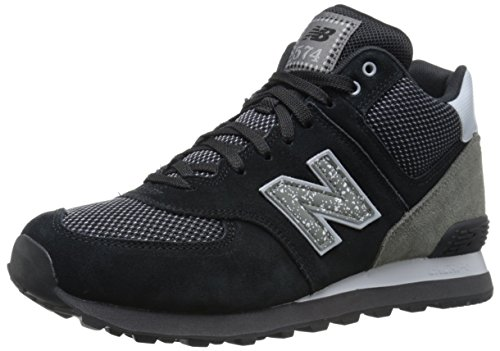 New Balance Mens Ml574 Outside In Pack Classic Sneaker Nero / Grigio