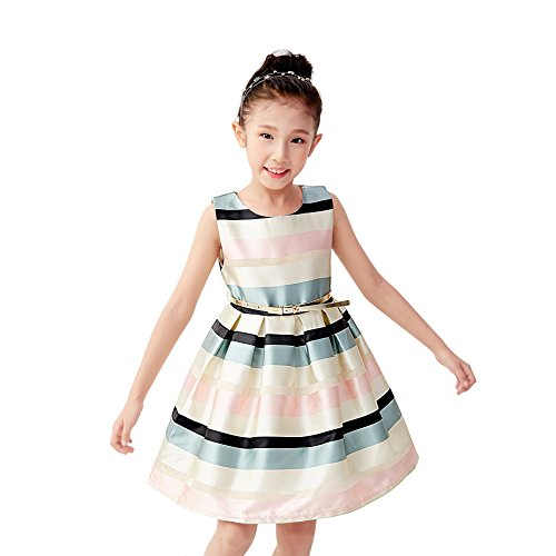 Prom Dresses Kids Ball Gowns for Girls Size 5 Cutest Dresses for Kids Chic Dresses for Girls 4-5 Fluffy Dresses for Kids Pretty Dresses for Toddler Girls (Green,5)
