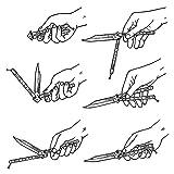 IETFULL Butterfly Knifes Butterfly Practice Knife