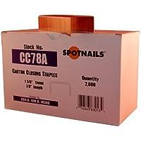 Spot Nails CC78A 1-3/8-Inch Crown 7/8-Inch Leg Carton Closing Staple by Spot Nails