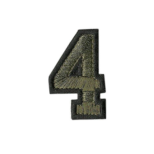 Tactical Numbers Patches - Olive - Four