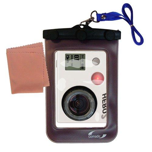軽量水中カメラバッグSuitable for the GoPro Hero 2防水保護   B007TVVWC8