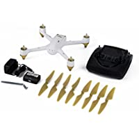 White FPV Quadcopter with 1080P Camera 4.3 inch FPV for Hubsan H501S