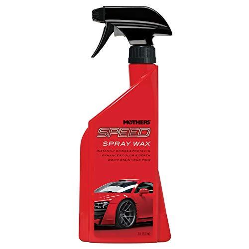 Mothers 15724 Speed Spray Wax, 24 fl. oz. ()