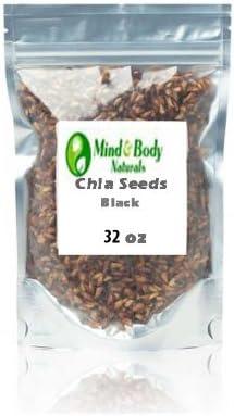 Amazon.com: Semillas de Chía 2 pounds promueve la pérdida de ...