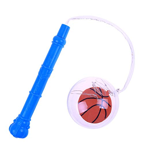 Livoty Flashing Clear BoBo Ball LED Lantern Basketball Soccer Flexible Lamp Xmas Party Decor Children Toys (Red) ()