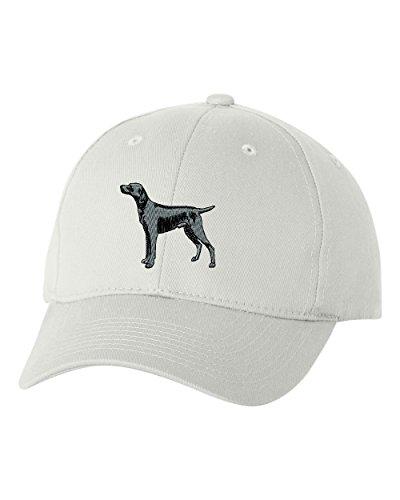 WEIMARANER DOG Custom Personalized Embroidery Embroidered Baseball Hat Cap (Weimaraner Hat)