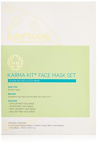 Karuna Karma Kit + Face Mask Set, Pack of 4