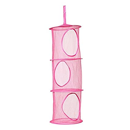 Mesh Hanging Organizer - 1 Portable 3 Tier Mesh Hanging Storage Pocket Toys Bedroom Door Wall  sc 1 st  Amazon.com & Amazon.com: Mesh Hanging Organizer - 1 Portable 3 Tier Mesh Hanging ...