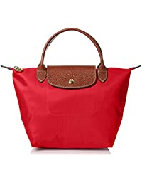 Longchamp Women\u0026#39;s Le Pliage Small Handbag, Red Garance