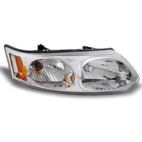 Saturn Ion 4 Door Sedan Clear Passenger Right Side Front Headlight Head Lamp Front Light (Hid Saturn Ion)