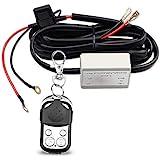 12//24V 16AWG 7FT Length for LED Light Bar//Driving Light//Fog Light and Pods Light Work Light Wiring Harness Kits remote Switch