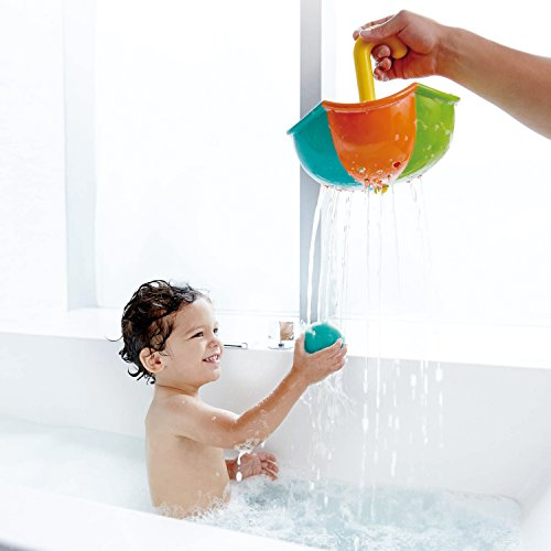 Hape Kids Little Splashers Rainy Day Catching Set Bath Toy
