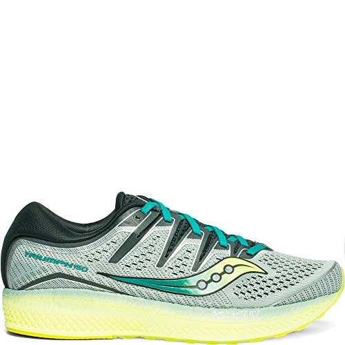 Saucony Men's Triumph ISO 5 Running Shoe, Frost/Teal, 8.5 M US (Saucony Hurricane 15)