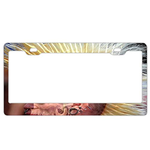 SUJQNGC License Plate Halloween Costume Durable Car Tag