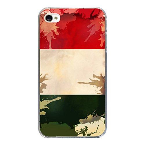 """Disagu Design Case Coque pour Apple iPhone 4 Housse etui coque pochette """"Ungarn"""""""